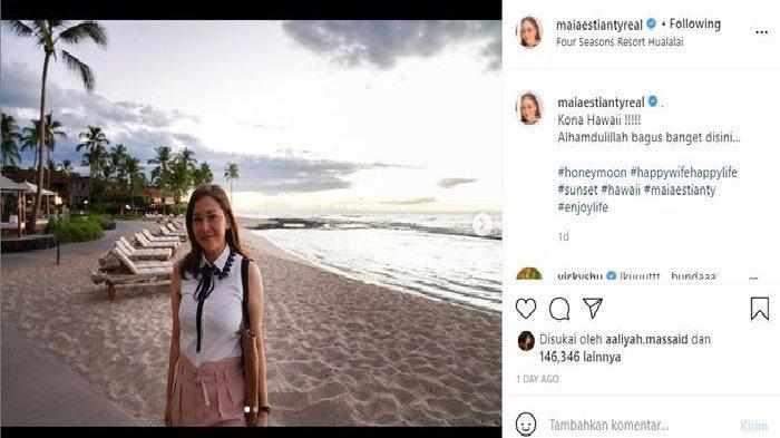 Postingan Instagram Maia Estianty