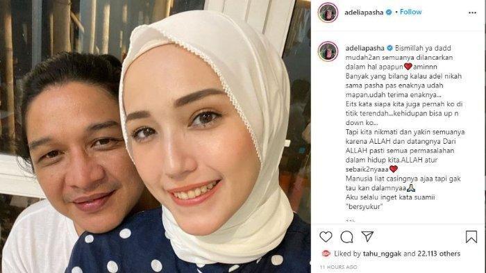 Adelia Pasha dan Pasha Ungu