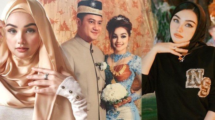 Potret cantik Nurah Syahfirah istri Teuku Rafly Pasya mantan suami Tamara Bleszynski. (Kolase Tribunstyle.com Instagram @ nourahsheivirah)