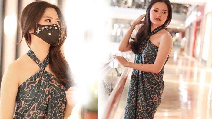Potret Felicia Tissue kenakan kain batik