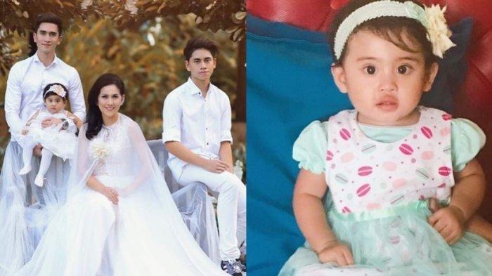 Potret keluarga kecil Venna Melinda.
