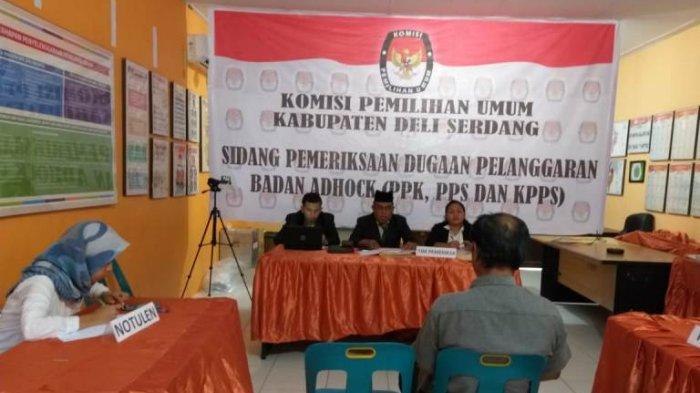 Agenda Pemeriksaan di KPU Deliserdang, Beberapa PPK tak Penuhi Panggilan