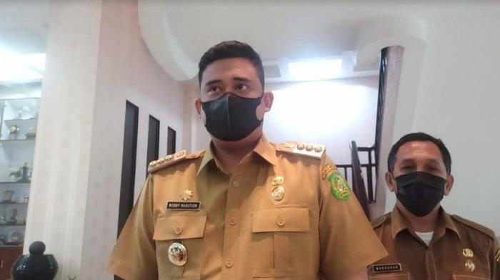 WALI Kota Bobby Nasution Sebut Kasus Aktif Covid 19 di Medan Turun Jadi 1500