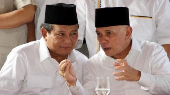 Bertemu di Markas PKS, Prabowo dan Hatta Terlihat Kaku