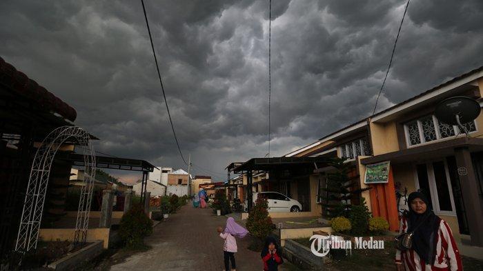 PRAKIRAAN Cuaca di Sejumlah Wilayah Sumut Hari Ini, BMKG: Dominan Berawan, Hujan Ringan Sore Hari