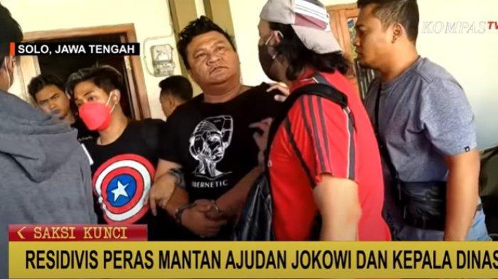 Preman Solo Ditangkap Polisi, Peras Mantan Ajudan Jokowi saat Menjabat Wali Kota, Terungkap Modusnya