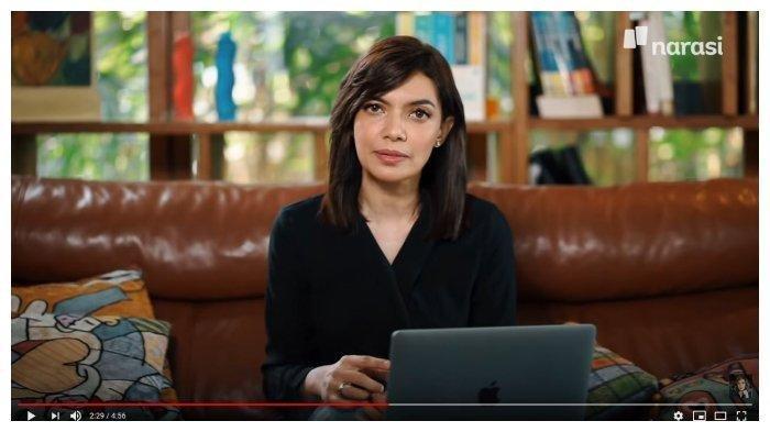 Presenter Najwa Shihab membahas sikap anggota DPR yang justru getol membahas revisi undang-undang (RUU) kontroversial di tengah wabah Virus Corona. (YouTube Najwa Shihab)