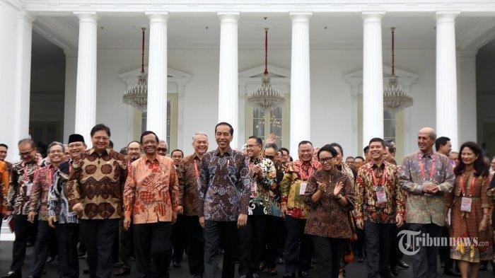 Isu Reshuffle Kian Kencang, Inilah Daftar Nama-nama yang Disebut Jadi Menteri Baru Jokowi