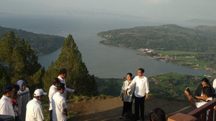 Targetkan Selesai 2020, Jokowi Ungkap Danau Toba Wisata Berkelas