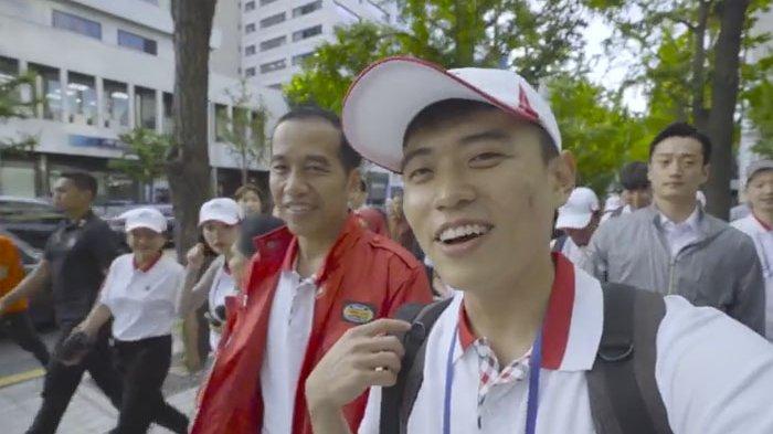 Diajak Orang Korea Pakai Bahasa Jawa, Begini Reaksi Presiden Jokowi