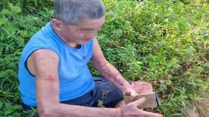 Seorang pria berusia 70 tahun terdampar di perkebunan kelapa sawit selama hampir 13 jam setelah tersesat saat membeli makan malam.