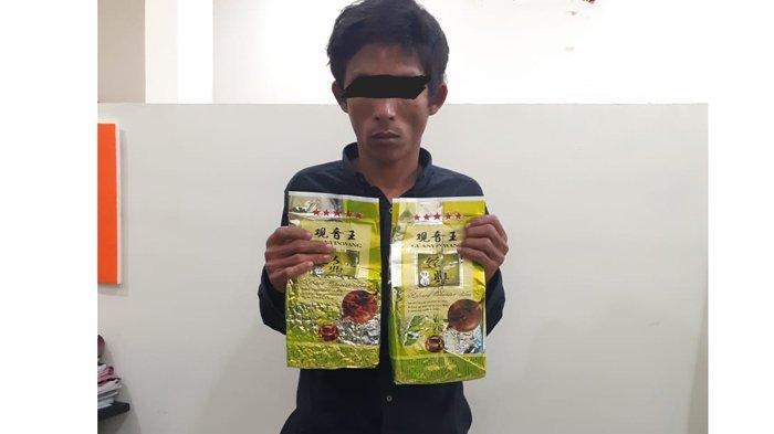 Warga Bandung Ditangkap di Jalan Jamin Ginting, Bawa 2 Kilogram Sabusabu untuk Diedarkan di Medan