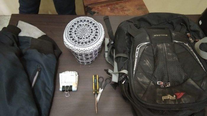 Polsek Binjai Utara Amankan Pencuri Kotak Infaq di Masjid Al Huda