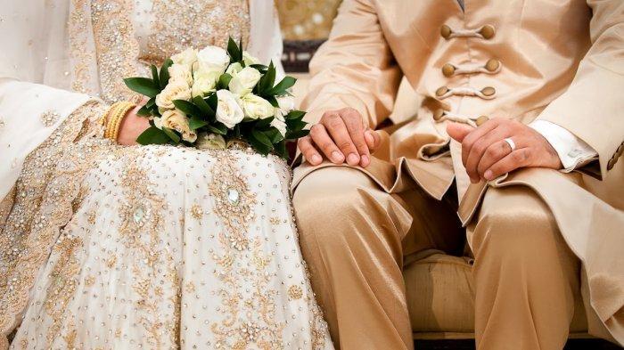 Asyik Belanja Souvenir di Wonosari, Pria Diculik Dipaksa Menikahi Wanita yang tak Dikenalnya. Ilustrasi pernikahan