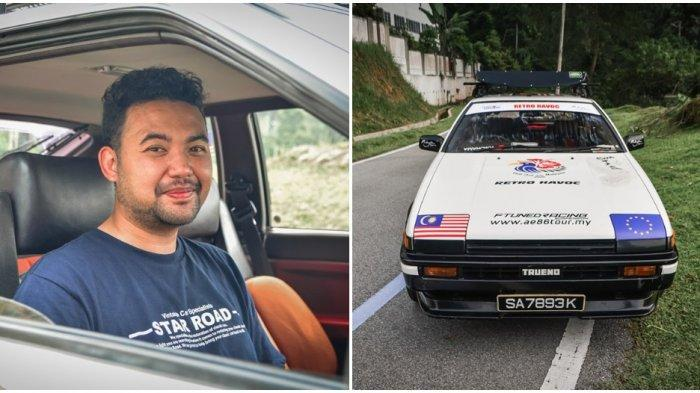 Pemuda ini Berkendara Sejauh 32 Ribu Km Menuju Jerman untuk Menikahi Kekasihnya
