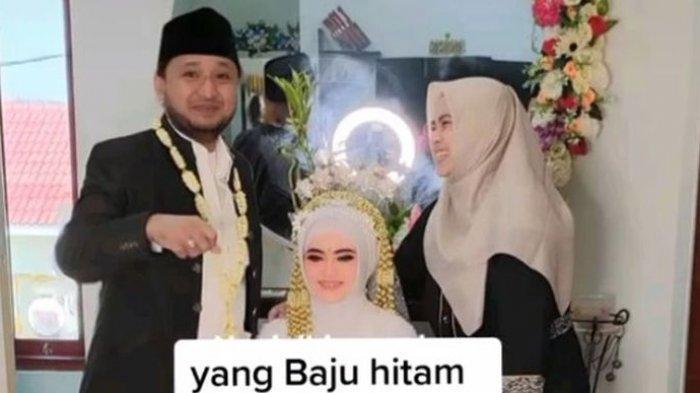 Pria ini Nikah Lagi untuk Ketiga Kalinya, Sang Istri Pertama Ikut Berfoto, Netizen Langsung Heboh