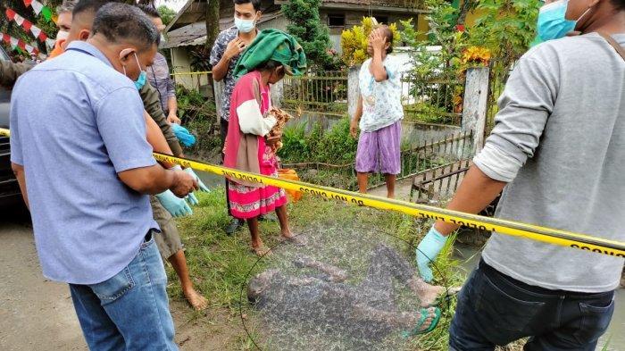 Bikin Heboh, Usai Minum Tuak, Pria Paruh Baya Meninggal Telungkup di Parit Depan Kuburan