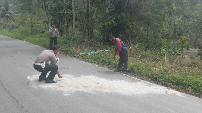 Pria Tanpa Identitas Tewas di Jalan Umum Bangun Purba-Seribu Dolok, Diduga Ditabrak Mobil