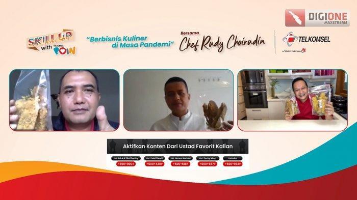 Telkomsel Ajak UMKM Semakin Kreatif Manfaatkan Peluang Bisnis Kuliner
