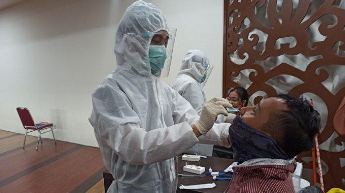 Menjijikkan, Alat Rapid Test Bekas dari Mulut Orang Dipakai ke Orang Lain, Dinkes: Pidanakan