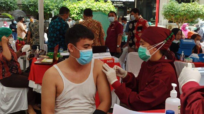 Sebagian Anggota Polres Toba Menunggu Tahap Dua Vaksinasi, Sejauh Ini Baru 87 Personel Divaksin