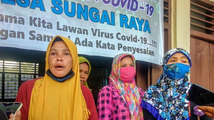 Tak Dapat Bansos Rp 600 Ribu, Emak-Emak di Siempat Nempu Hulu Dairi Geruduk Kantor Desa
