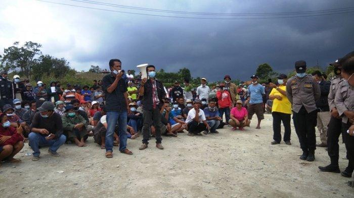 Peledakan Dinamit Proyek Pembangkit Listrik Hampir Tiap Hari, Warga Desa Kandibata Protes