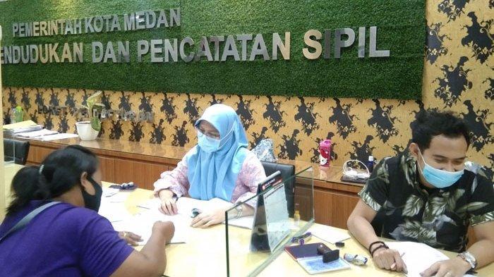 Maksimalkan Penerapan Protokol Kesehatan, Disdukcapil Medan Gandeng Satpol PP