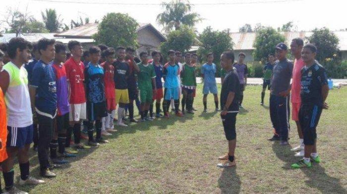 Tatap Liga 3 Sumut, PS Kwarta Gelar Seleksi Pemain di Lapangan Pondok Rawa
