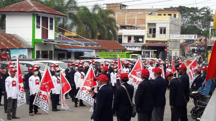 PSBI Gelar Apel Siaga dan Roadshow Menyapa Rakyat Samosir