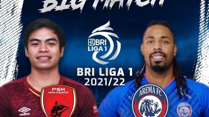 LIVE Streaming PSM Makassar Vs Arema FC Jam 18.15, Ambisi Besar Wiljan Pluim Petik Poin Penuh