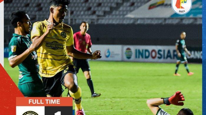 HASIL KS Tiga Naga Vs PSMS Medan - Nico Malau Gagalkan Kemenangan Ayam Kinantan Laga Perdana Liga 2
