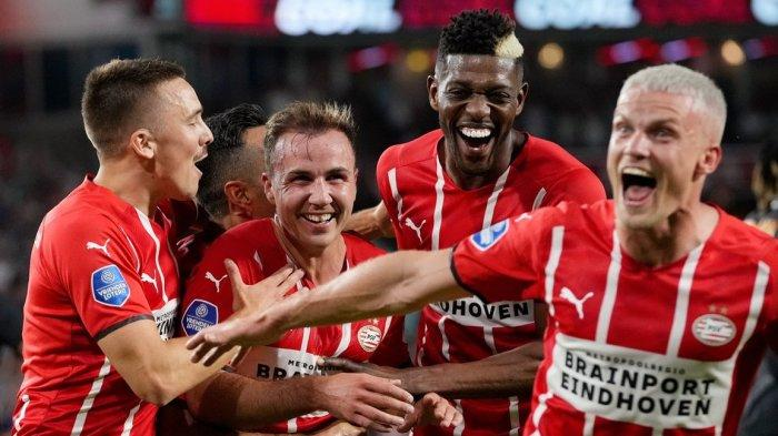HASIL Liga Champions - Lolos ke Babak Selanjutnya, Mario Gotze Bawa PSV Eindhoven Pesta Gol