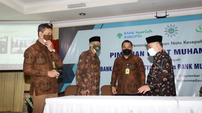 KB Bukopin Syariah Kerjasama dengan PP Muhammadiyah Terkait Penggunaan Jasa dan Produk Perbankan