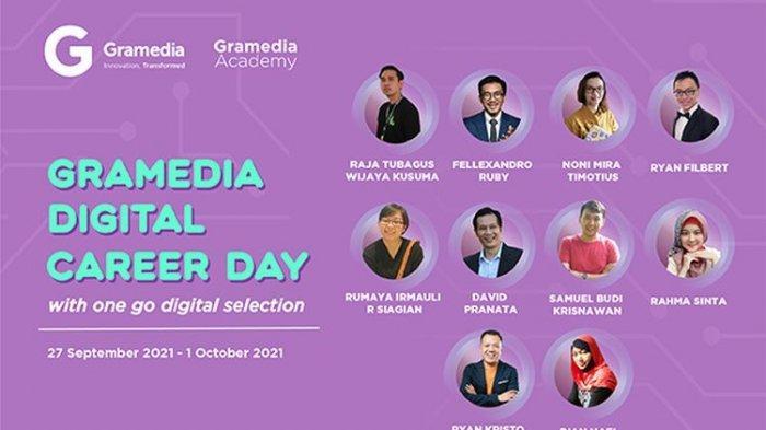 Gramedia Digital Career Day, Banyak Buka Lowongan Kerja