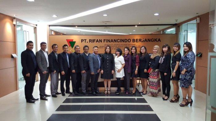 PT Rifan Financindo Berjangka Optimistis PBK Tetap Tumbuh di Medan