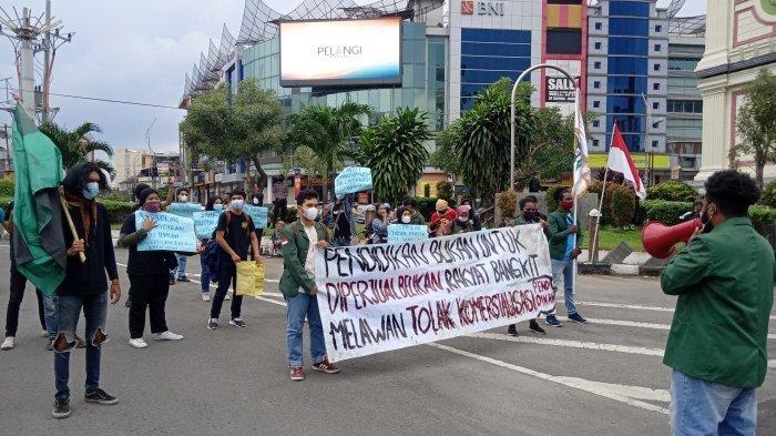 Peringati Hardiknas, AKBAR Sumut Demo Tuntut Pendidikan Gratis Diwujudkan