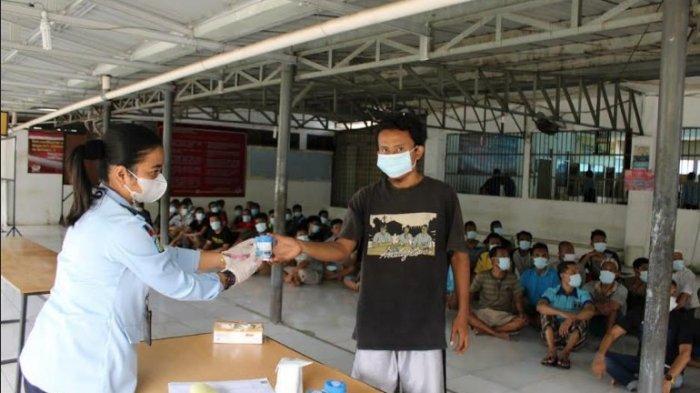 RUTAN Tanjung Gusta Medan Lakukan Pemeriksaan Urine kepada 60 Warga Binaan, Begini Hasilnya