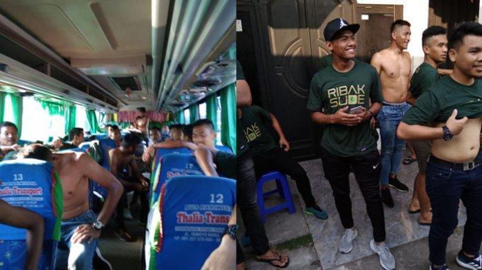 PSMS Akhirnya Tiba di Cilacap Tengah Malam, Panpel Mengganti Bus dan Minta Maaf
