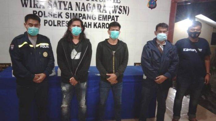 Polisi Tangkap Dua Penganiaya Pengunjung Danau Lau Kawar yang Tolak Pungli