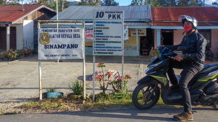 Jemput Bantuan Sembako Pemprov Sumut, Warga di Sinampang Dairi Bayar Rp 5 Ribu