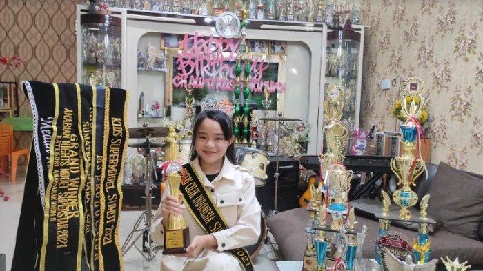 Aura Kasih Waruwu Banggakan Nias, Dinobatkan Jadi Puteri Cilik Indonesia Sumut, Wakil ke Nasional