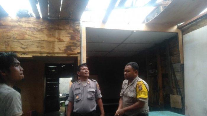 Kandang Kuda Prabowo di Siborong-borong Rusak Diterjang Puting Beliung