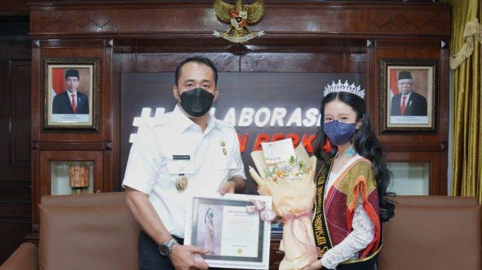 Putri Cilik Sumut 2021 Minta Restu dan Dukungan ke Kantor Wali Kota Medan, Ini Pesan Aulia Rachman