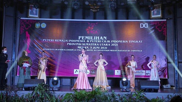 Putri Fanita Lubis Terpilih Jadi Puteri Remaja Indonesia Sumut, Berharap Harumkan Nama Daerah