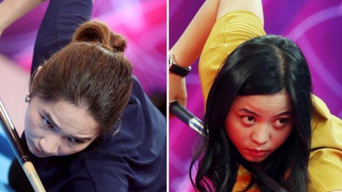 Sosok Pebiliar Putrini Sianturi Melawan Juara Favorit di Ajang Turnamen 9 Ball Hot Nine
