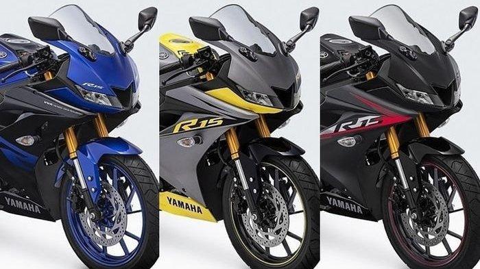 Yamaha All New R15 Rilis 3 Warna Baru, Ini Penampakannya
