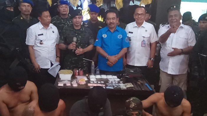 Anggota Raider 100 PS Dilempari Batu dan Sajam saat Sisir Lokasi Pesta Sabusabu