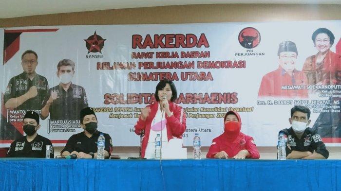 Rakerda Repdem Sumut Lahirkan Kepeloporan Kerja-kerja Politik, Martua Siadari Jadi Formatur Tunggal
