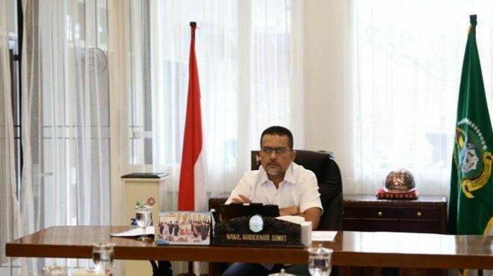 Wagub Ijeck Lapor ke Pemerintah Pusat Tren Kasus Covid-19 Terus Membaik